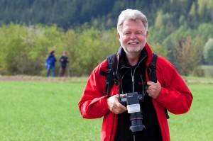 Anton Wieser beim der Vierbergewallfahrt 1
